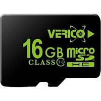 Карта памяти Verico microSDHC 16GB Class 10 (без адаптера) (VFE3-16G-V2E)
