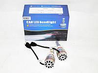 Мощные светодиодные лампочки H7 LED 33W 12V. Хорошее качество. Доступная цена. Дешево.  Код: КГ1494