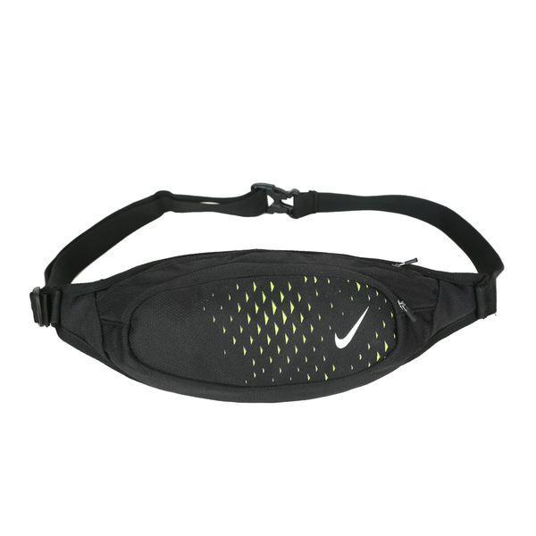 Сумка на пояс Nike черная с белым логотипом (реплика)