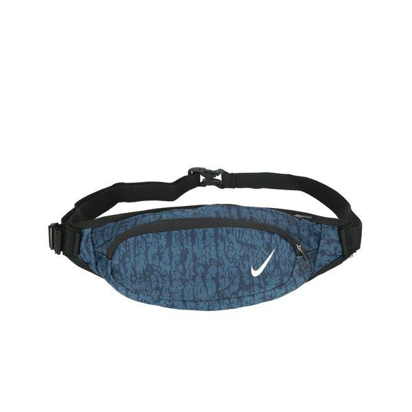 Сумка на пояс Nike темно-синяя с белым логотипом (реплика)