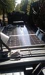 Солнечная электростанция Квазар на командно-штабной машине