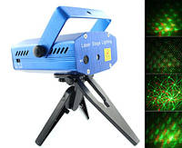 Mini Laser stage lighting YX-6A (YX-6B) – мощный лазерный проектор для дискотек и ресторанов