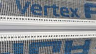 Деформационный компенсационный дилатационный профиль с сеткой VERTEX угловой V-Form длина 2,0 м.п, фото 1