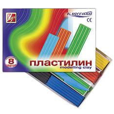 """Пластилин Луч 540223 """"Классика"""", 8 цветов (Y)"""