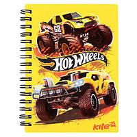 "Блокнот детский Kite HW17-226 ""Hot Wheels"", 80 листов (Y)"