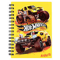 "Блокнот детский Kite HW17-226 ""Hot Wheels"", 80 листов (Y)"