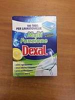 Таблетки для ПММ DEXAL бесфосфатные, мульти-комплекс, 100 шт, Италия, фото 1