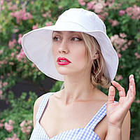 Шляпа белого цвета
