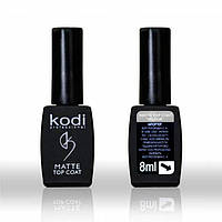 "Matte Top ""Velour"" Kodi Professional (Верхнее матовое покрытие для гель лака) 8 мл"