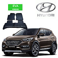 Автоковрики EVA для Hyundai Santa Fe