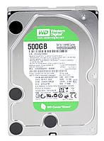 HDD SATA  500GB WD Caviar Green 7200rpm 64MB (WD5000AARS) гар. 12 мес.