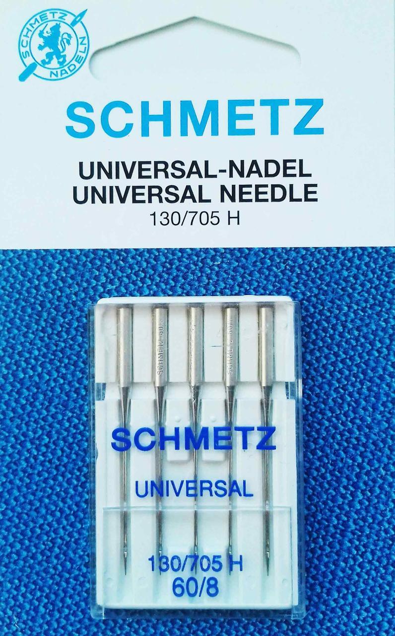Иглы универсальные Schmetz №60