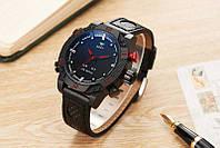 Часы мужские наручные AMST Shark black-black