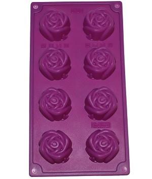 """Форма силиконовая """"Бутон розы"""" планшет 28 х 15 см"""