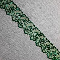 Кружево органза Яблоко зеленое, 4 см, фото 1