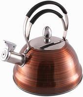 Чайник Fissman 2.3 л со свистком