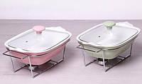Мармит керамический с подогревом 1.4 л, 30 см