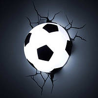 """3D Светильник """"Футбольный Мяч"""", Football Light"""