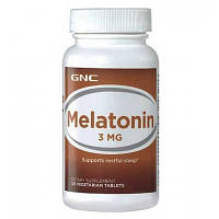Витамины и Минералы GNC Melatonin 3 mg (120 tab)