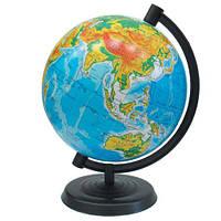 Обучающий глобус, физическая карта мира (укр.)