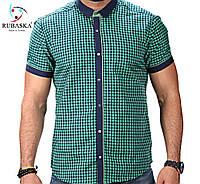 Клетчатая зеленная рубашка, фото 1