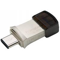 Накопитель Transcend JetFlash 890S 3C/USB 3.1 32GB Metal (TS32GJF890S)
