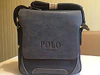 Мужская кожанная сумка Polo Oxford, фото 1
