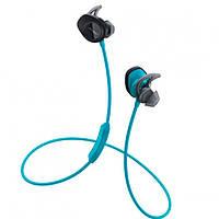 Навушники вакуумні з мікрофоном безпровідні Bose SoundSport Wireless Blue
