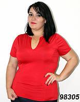 Красная летняя кофта 52