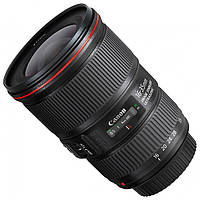Об'єктив Canon EF 16-35mm f/4L IS USM Black Red