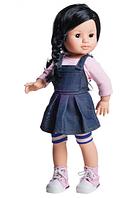 Кукла Paola Reina Лиз в джинсовом сарафане 40 см (06006)
