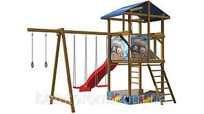 Детская деревянная площадка SportBaby-8, фото 2