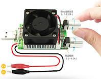 USB разрядка нагрузка 3.5-21 В, 0-3 А, 35 Вт