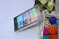 Cиликоновый чехол Matte Samsung i8580 белый