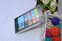 Cиликоновый чехол Matte Samsung i8580 белый, фото 2