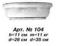 Колонны Капитель D=33 см, Н=11 см