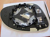 Вкладиш зеркала лівий з обігрівом для Volkswagen SHARAN