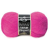 Nako Mohair Eligant фуксия № 4975