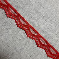 Кружево гипюр Волна красное, 1,5 см, фото 1