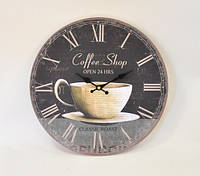 Часы  настенные, Coffee Shop