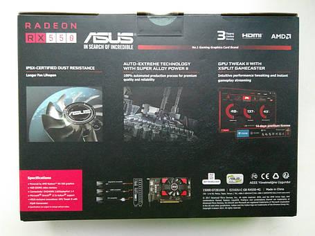 Видеокарта Asus Radeon RX 550 (RX550-4G), фото 2