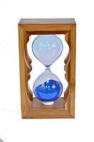 Необычный сувенир, часы песочные в бамбуке