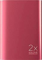 Портативная батарея Solove A8s Portable Metallic Power Bank 20000mAh Red