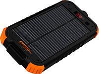 Портативная батарея TOTO TBL-85 Solar Power Bank 12000 mAh Black