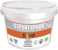 Структурная фасадная краска Фронт , 12 кг