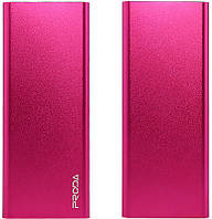 Портативная батарея Remax Power Bank Vanguard PP-V12 12000 mAh Pink