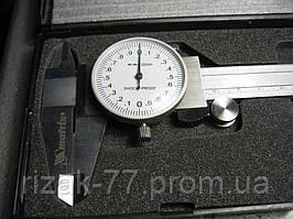 Штангенциркуль MATRIX, 150 мм, стрелочный MTX PROFI