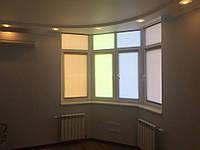 Заказать рулонные шторы на окна в Киеве