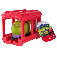 Паровозик Jazwares Коко с гаражом Chuggington (JW10566/38620/10587)