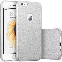 TOTO TPU Case Rose series iPhone 6/6s Silver
